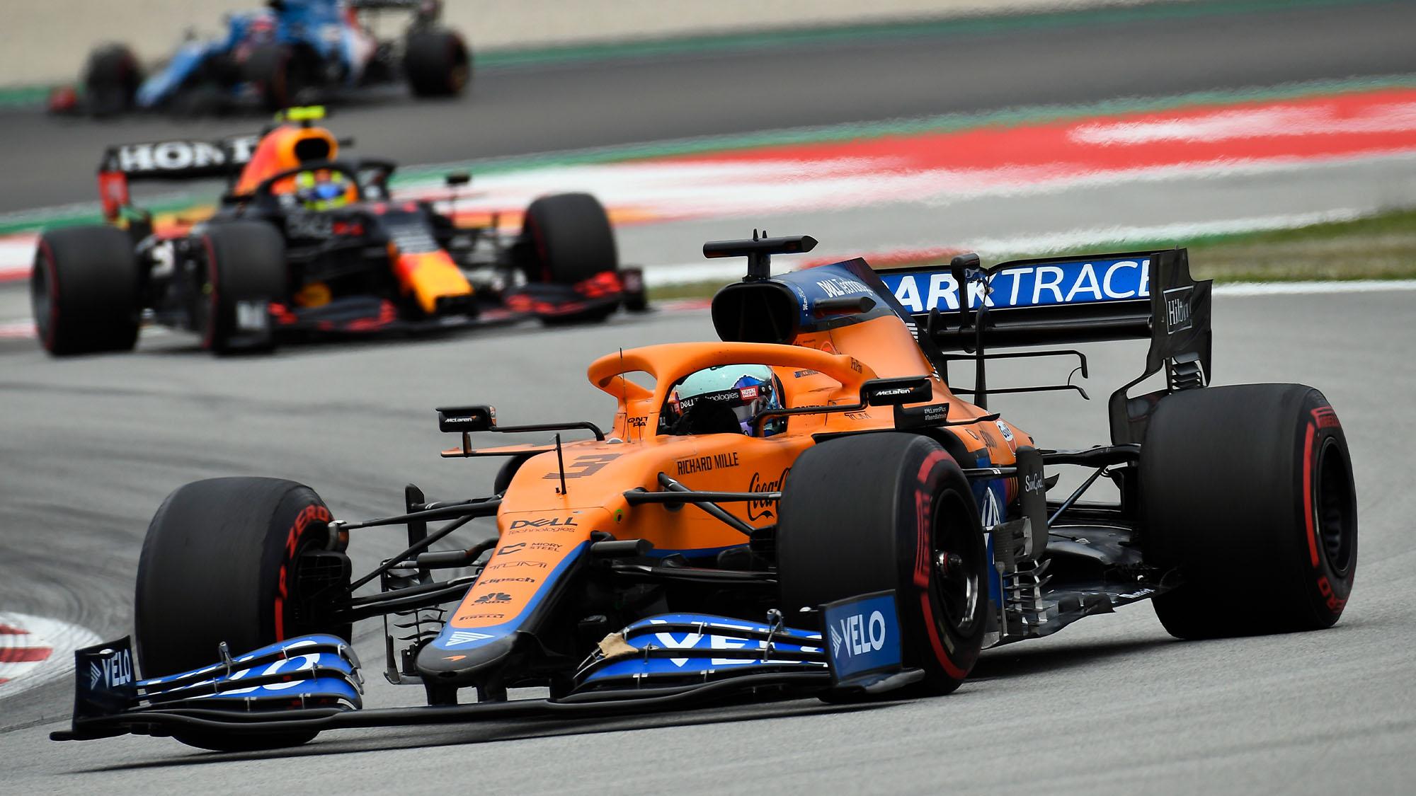 Ricciardo Barcelona 2021