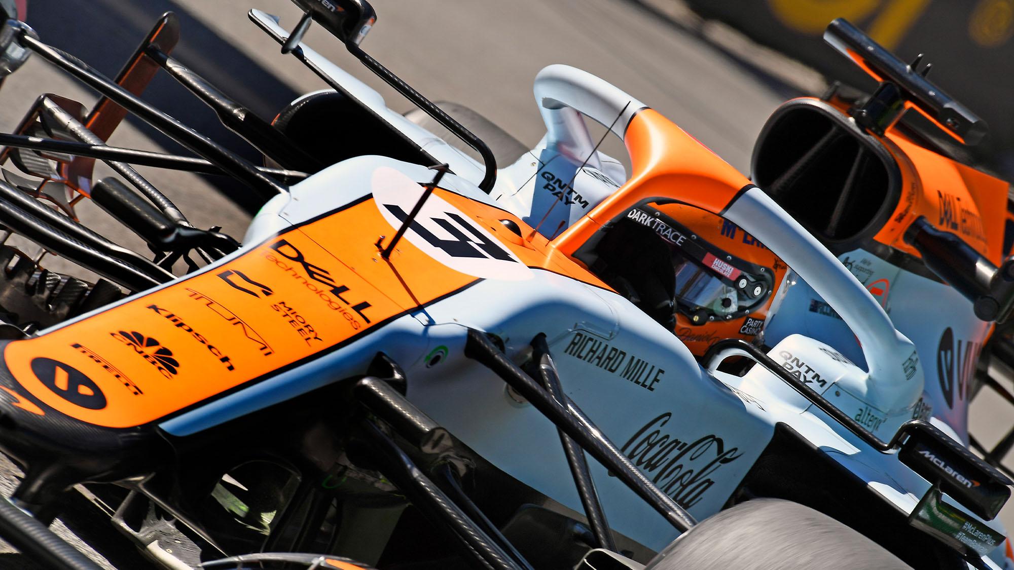 Ricciardo McLaren Monaco