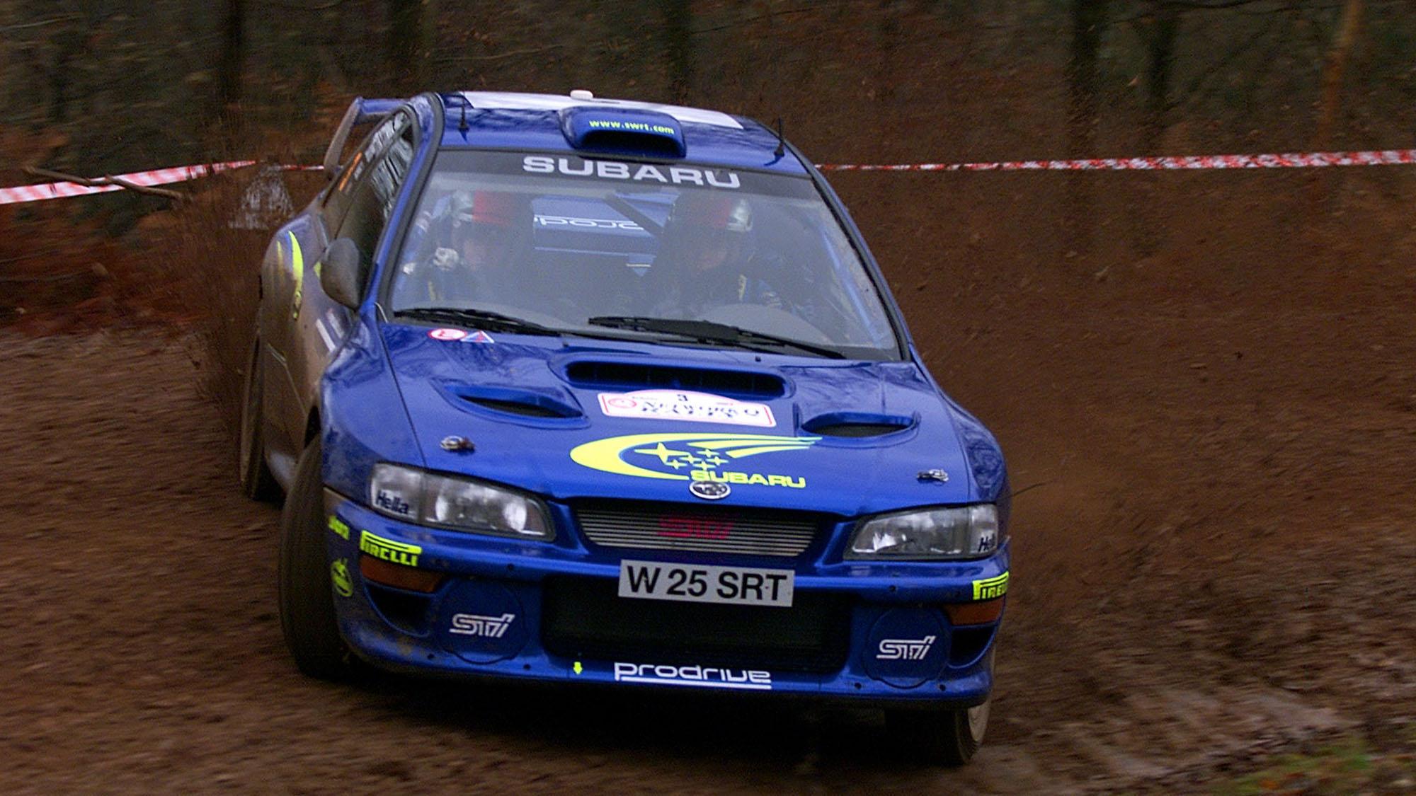 Richard Burns Subaru Impreza
