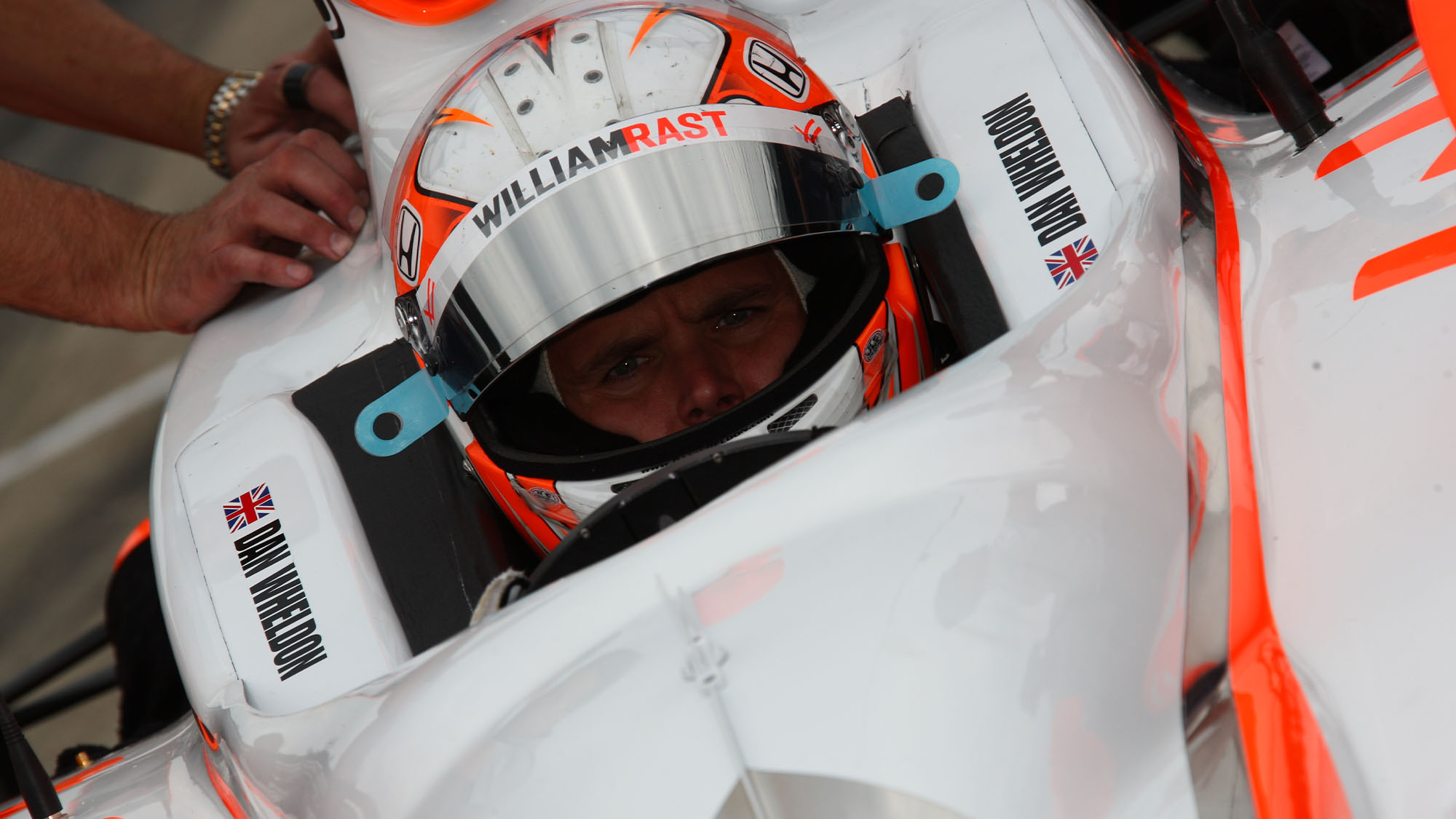 Dan Wheldon pre race 2011 Indy 500