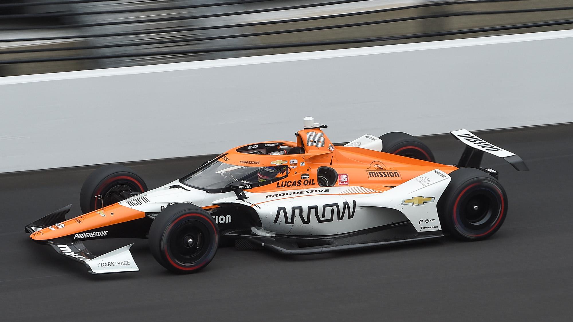 Arrows McLaren SP of Juan Pablo Montoya at indianapolis 2021