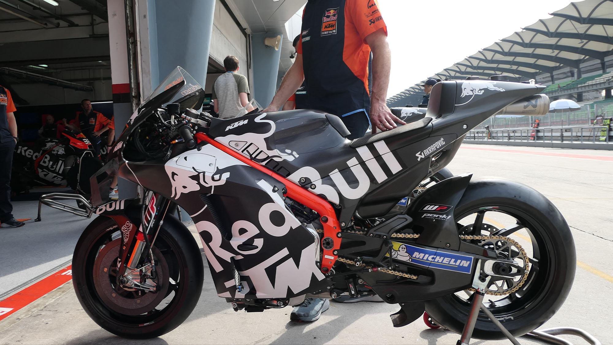 KTM 2020 MotoGP bike