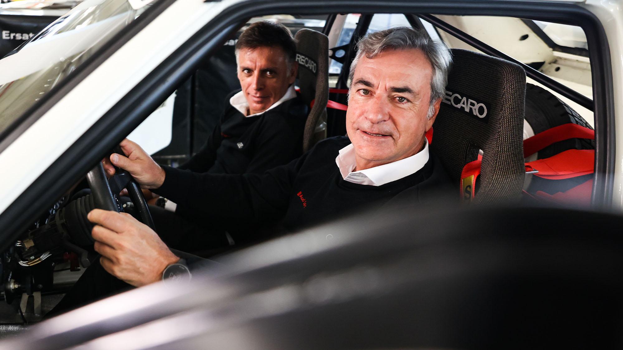 Carlos Sainz Sr Audi