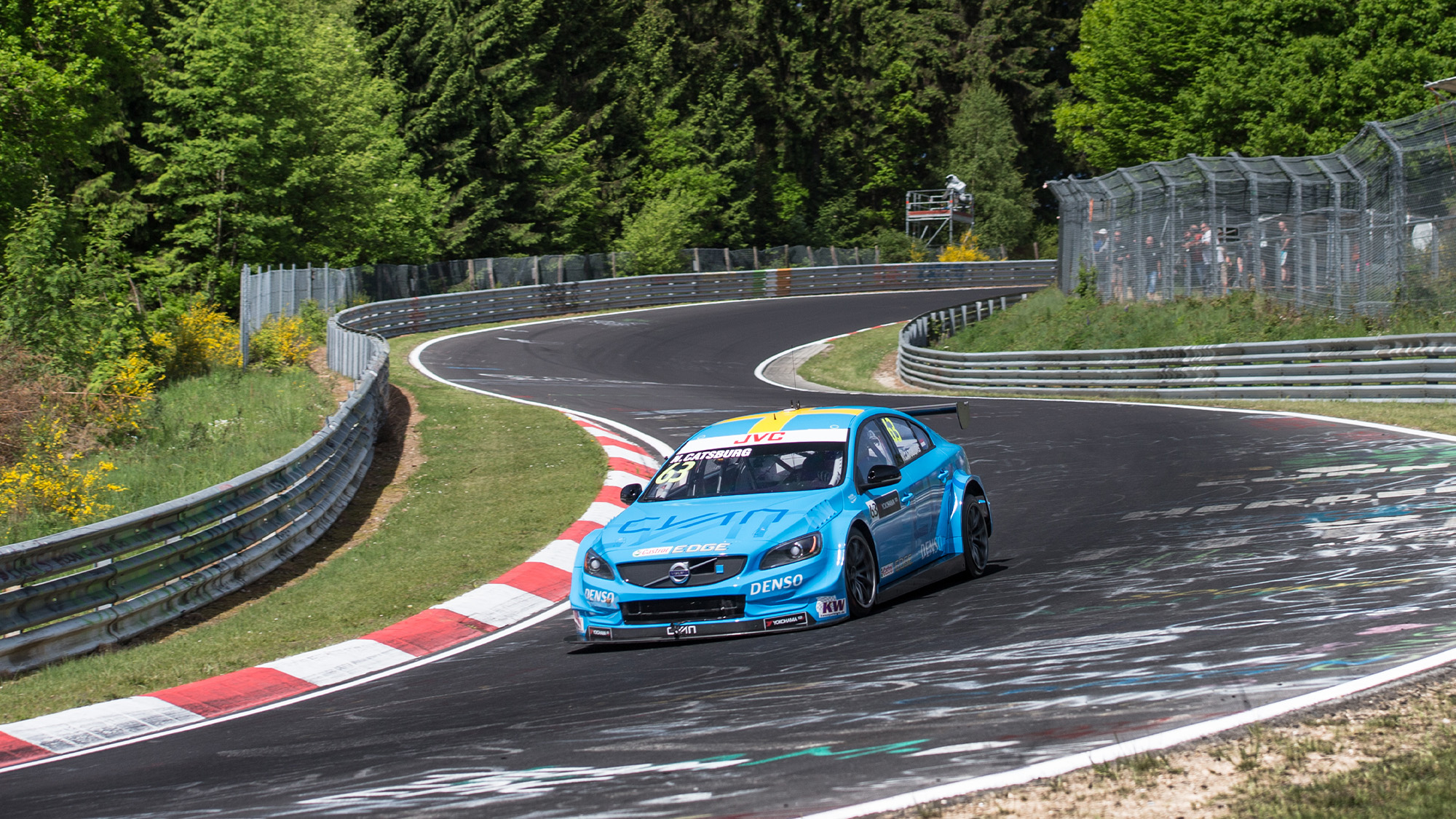 Polestar of Nicky Catsburg at the Nurburgring in 2017
