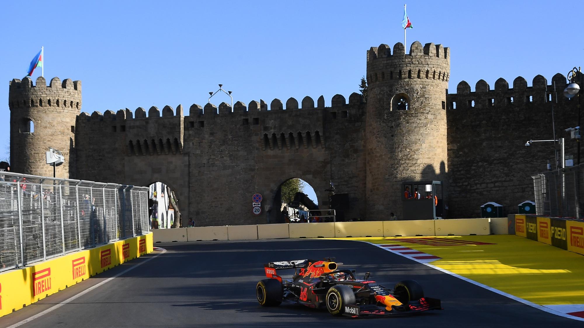 Max Verstappen, 2019 Azerbaijan GP