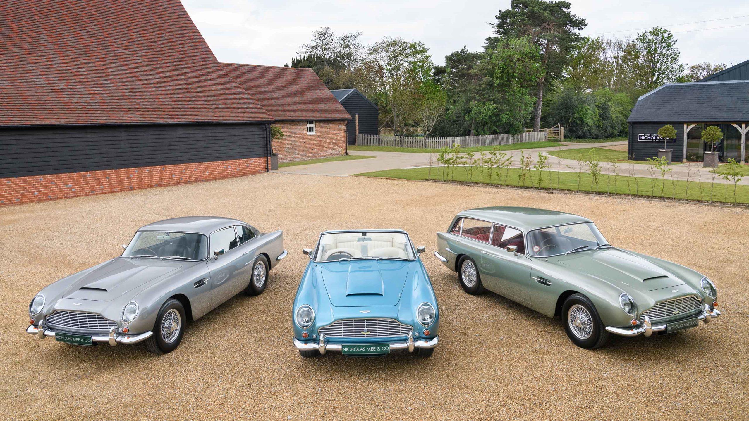 Aston Martin DB5 Coupe Convertible and Shooting Brake fan
