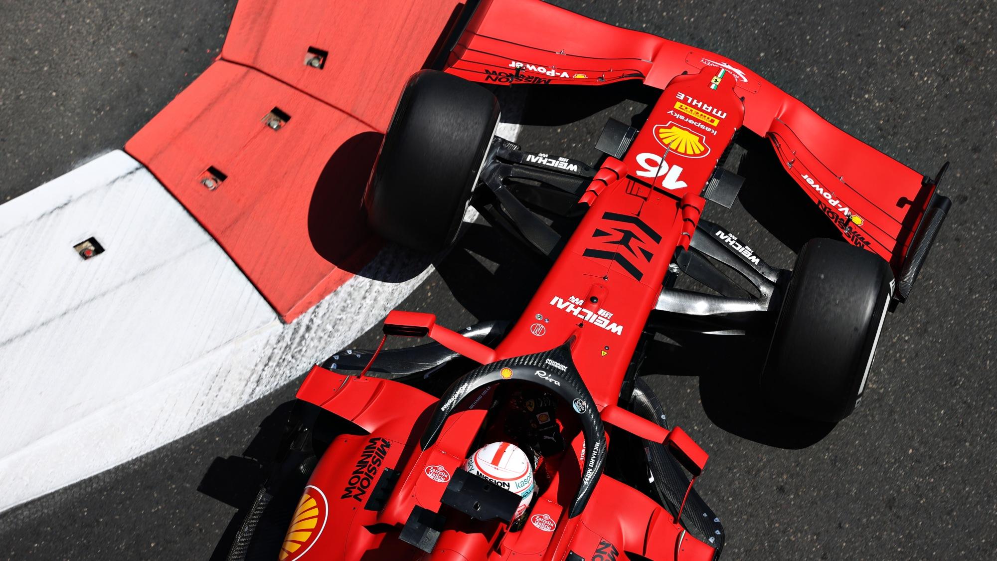 Charles Leclerc, 2021 Baku FP1