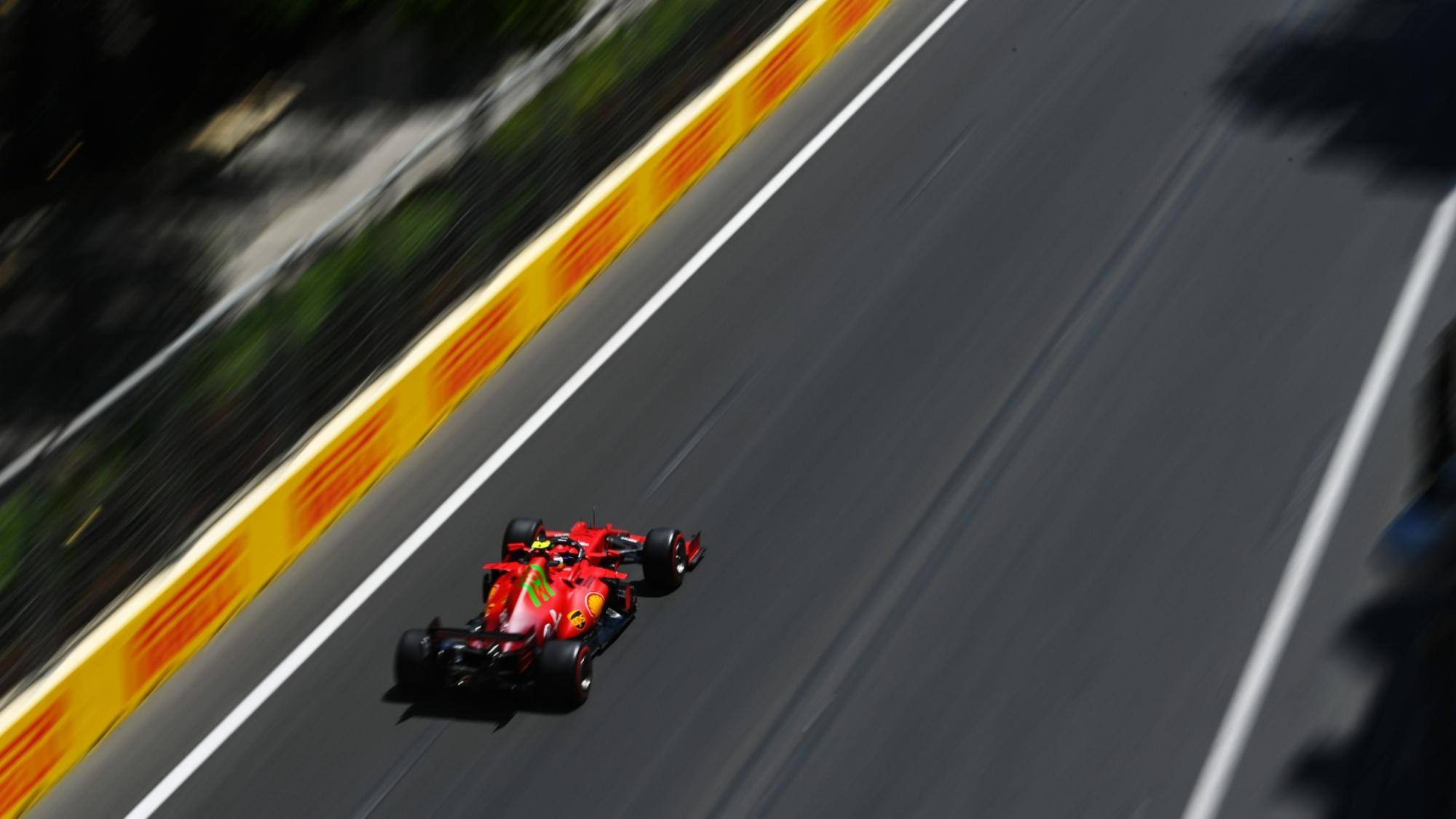 Carlos Sainz, FP1 Baku GP