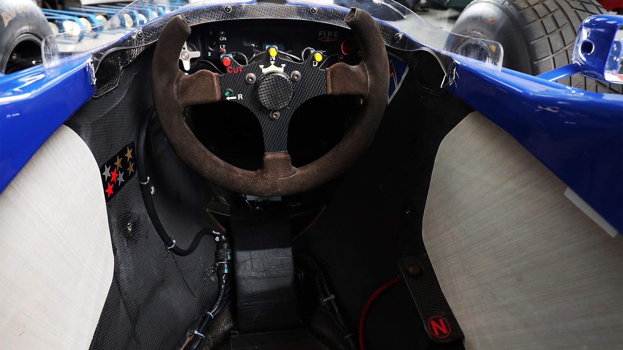 Williams F1 cockpit