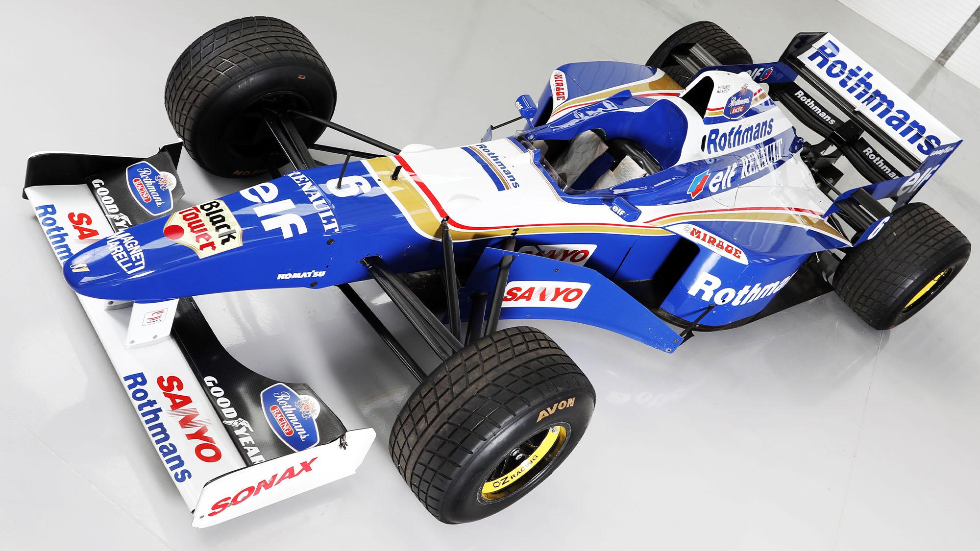 Jacques Villeneuve's Schumacher-conquering Williams F1 car up for sale