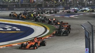 Singapore Grand Prix cancelled over Covid fears with second US race under consideration