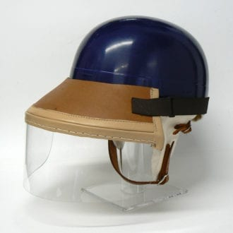 Product image for Mike Hawthorn helmet | full size | 'exact' replica