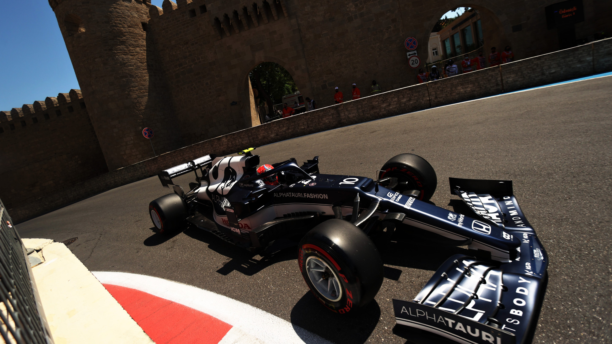 Gasly tops chaotic FP3 as Verstappen crashes: 2021 Azerbaijan Grand Prix practice round-up