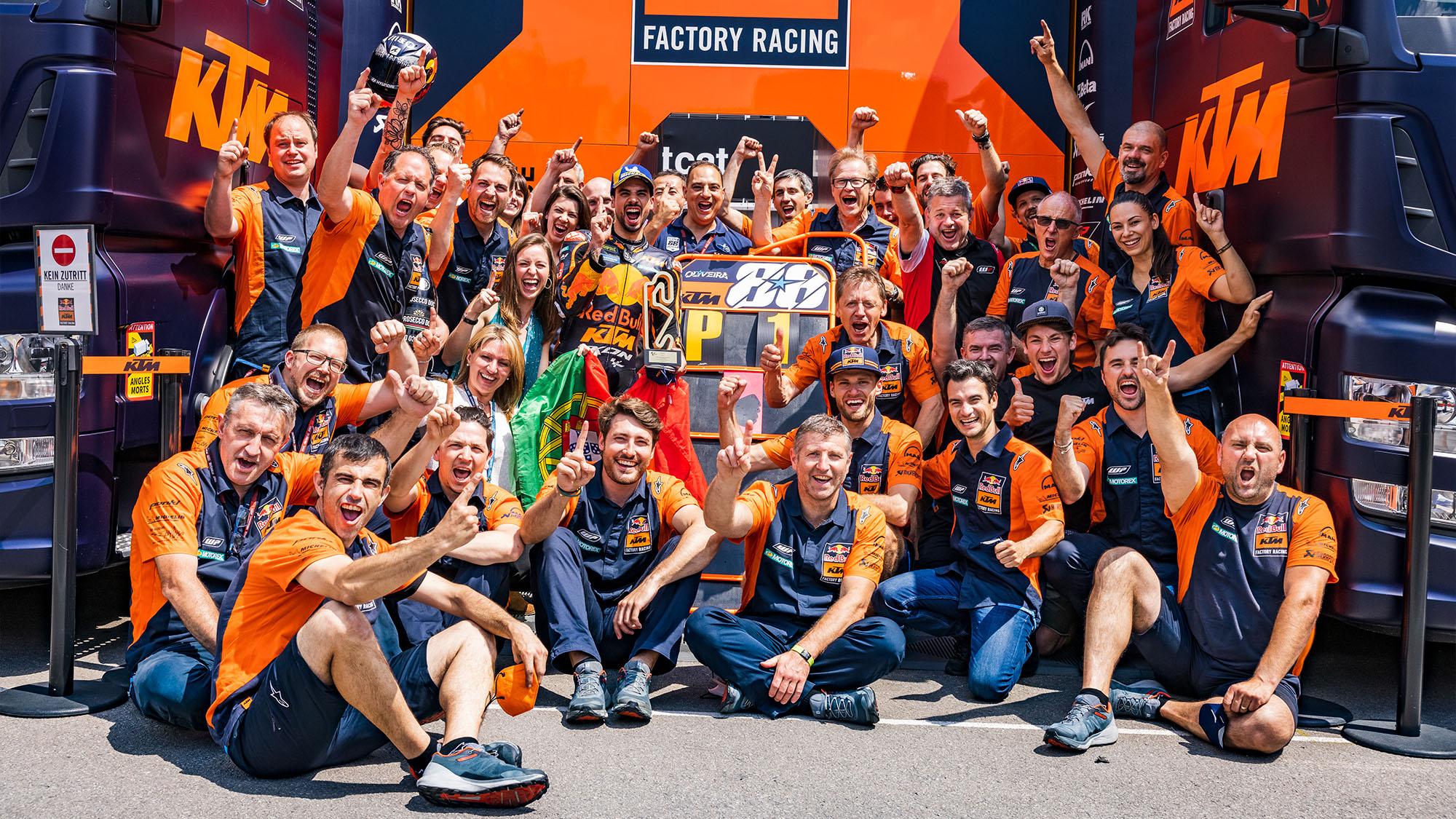 KTM: 'Honda was our idol'