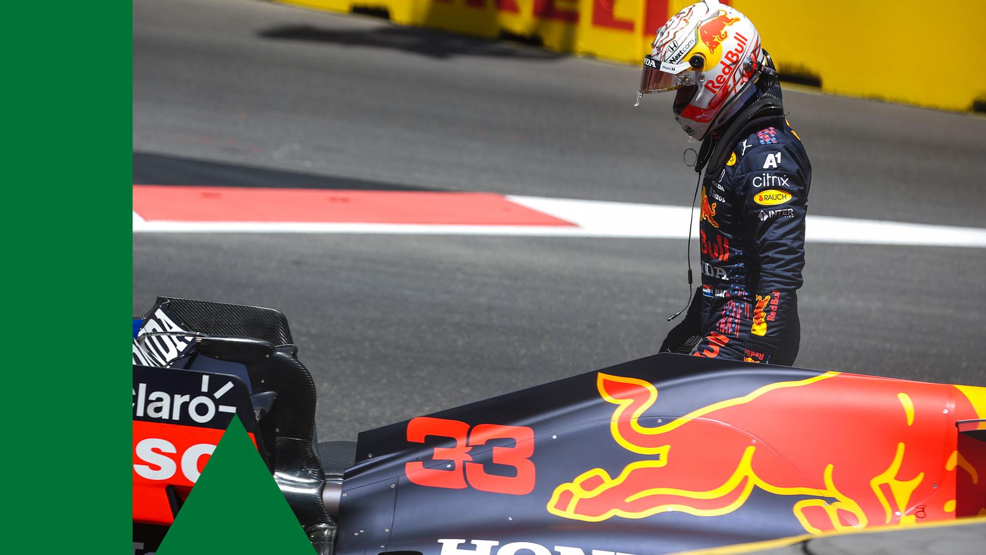 Verstappen crash