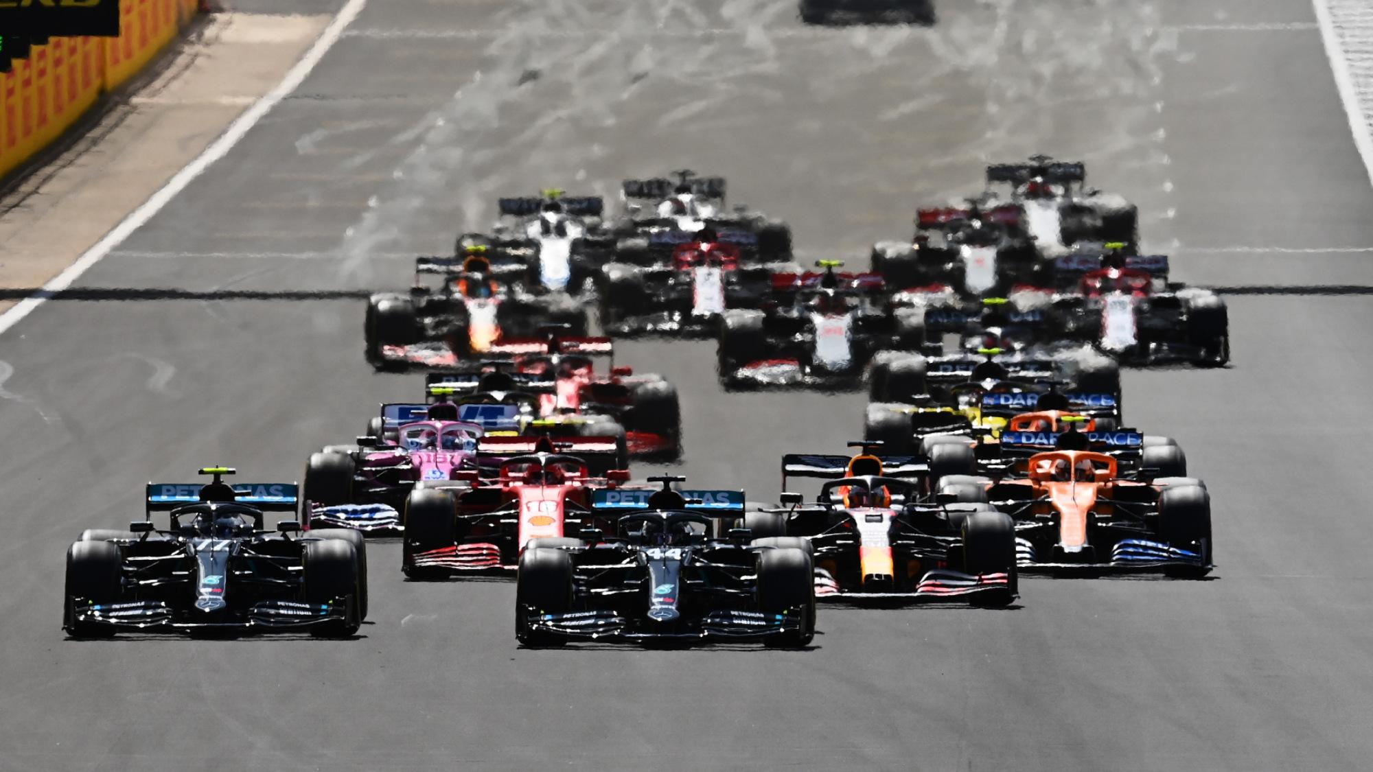 2021 British GP start