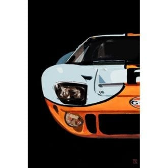 Product image for Ford Vs Ferrari | Ford Shelby GT40 Gulf | Martin Allen