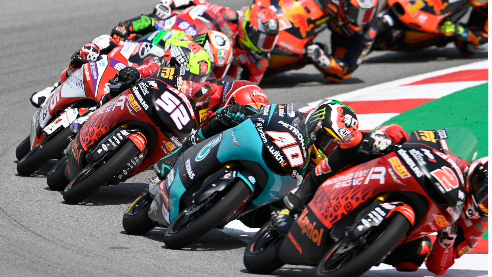 Moto3, Barcelona 2021