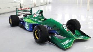 Schumacher's history-making Jordan 191 on sale for £1.25m