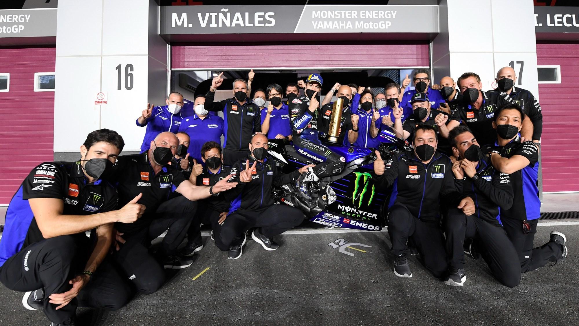 Maverick Vinales, 2021 Qatar GP