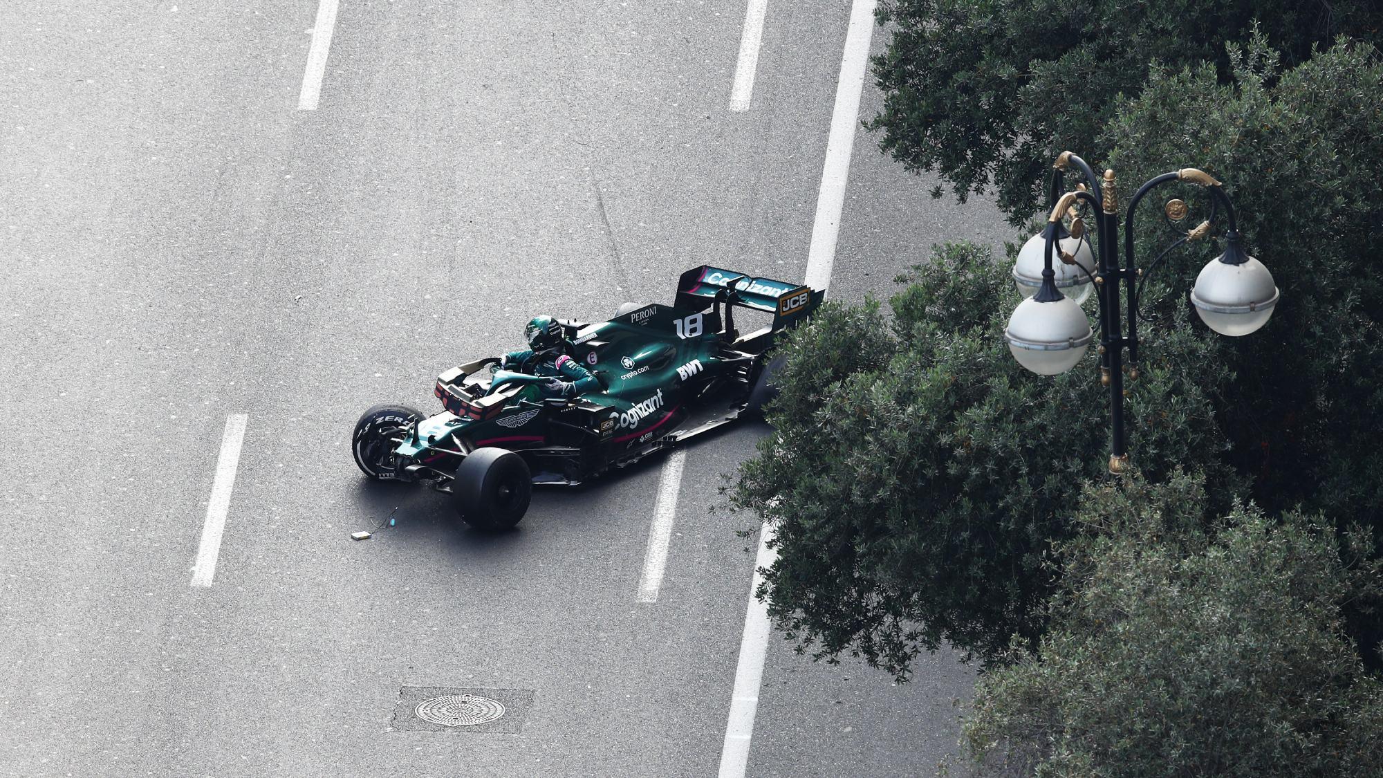 Lance Stroll, 2021 Azerbaijan GP