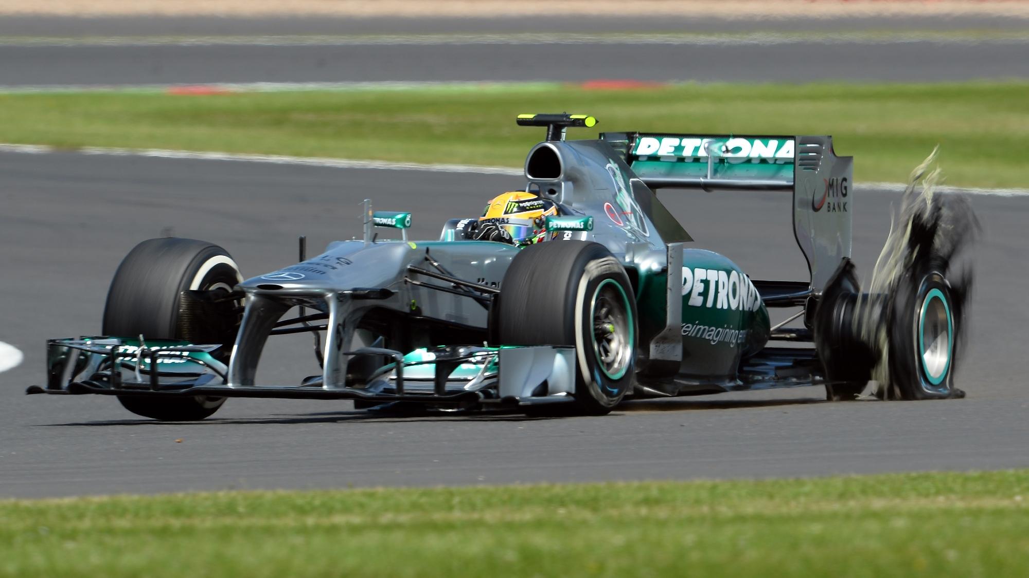 Lewis Hamilton, 2013 British GP