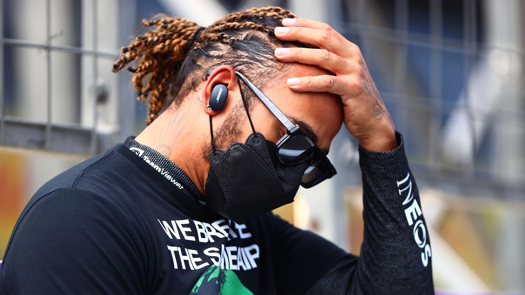 How the sound of radio silence betrayed Hamilton's emotions in Baku