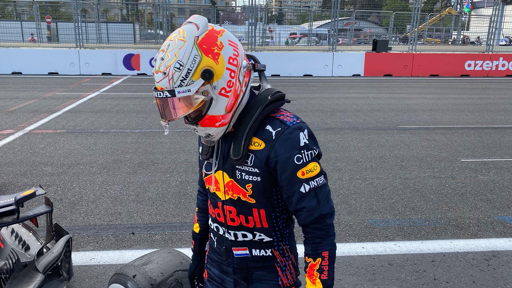 Max Verstappen Azerbaijan