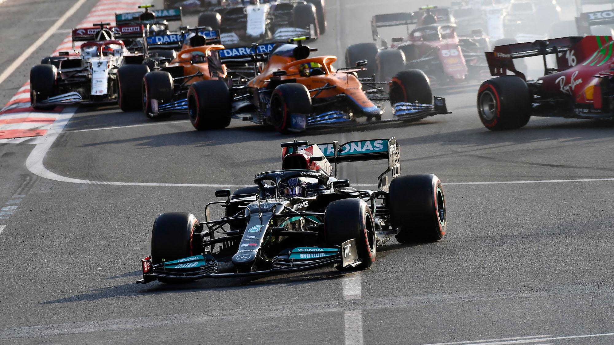 Lewis Hamilton Azerbaijan