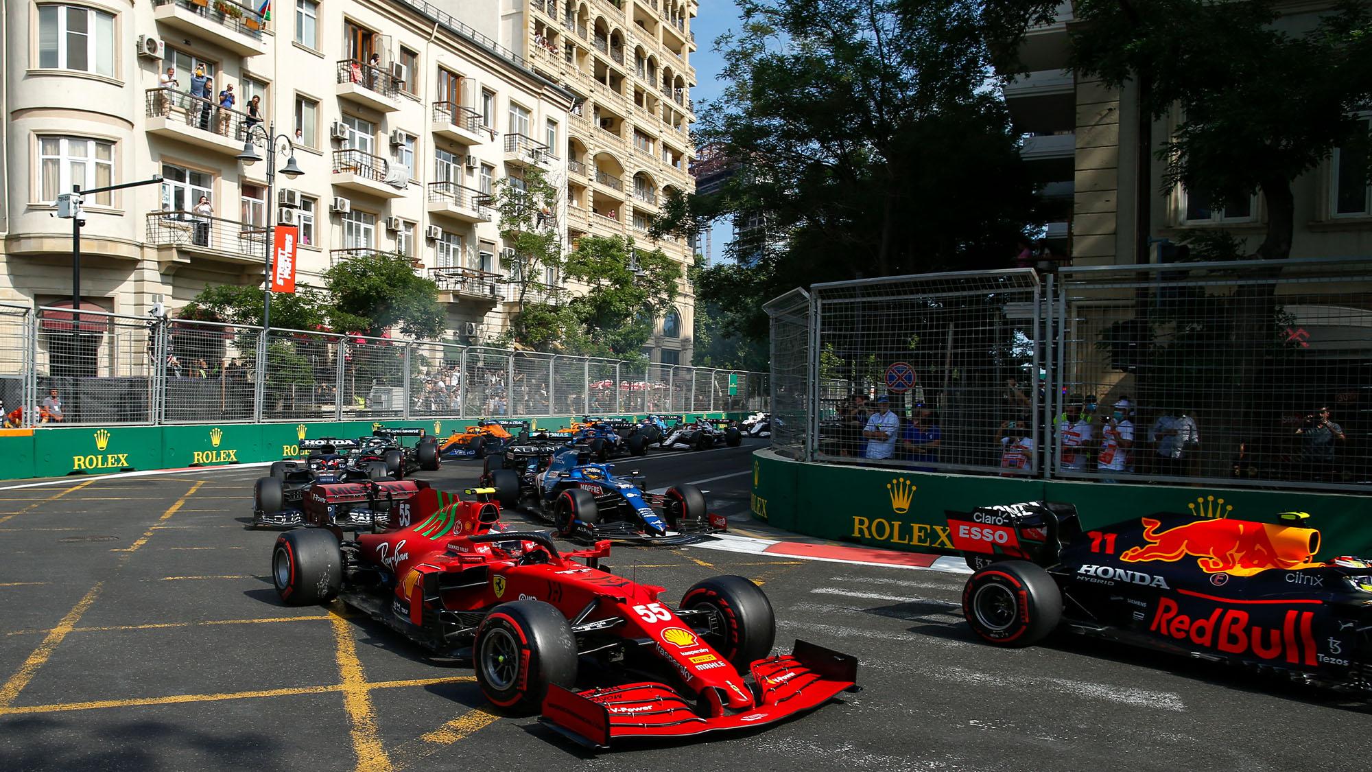 Baku Azerbaijan GP 2021