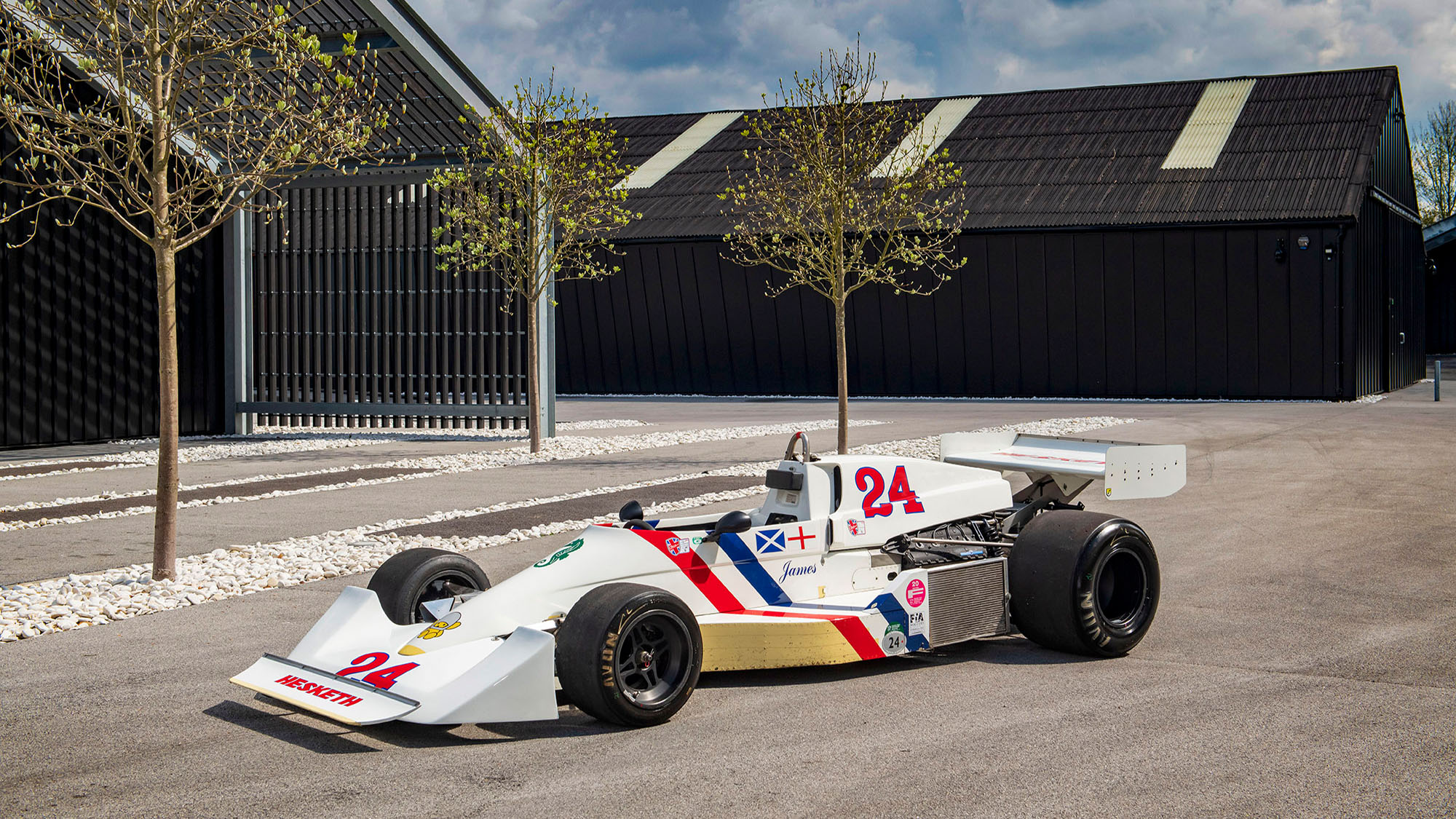 James Hunt's last Hesketh F1 car sells 45 years after its final race