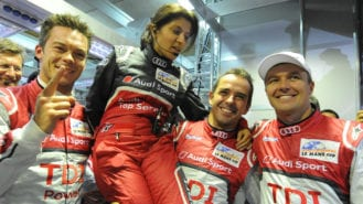 'Peugeot guys were giggling…then they wept': Leena Gade's first Le Mans win for a female race engineer