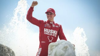 F1 exiles Magnussen and Ericsson win big in US on bumper day for Ganassi