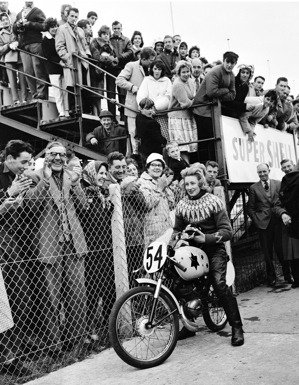 Beryl Swain, 1962 Isle of Man TT