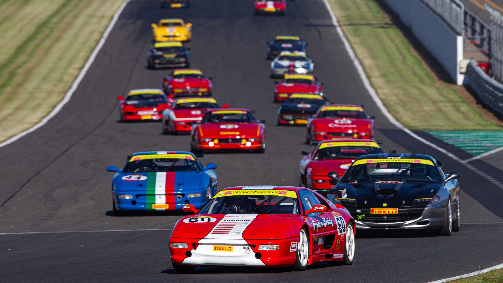 Ferrari lead 2
