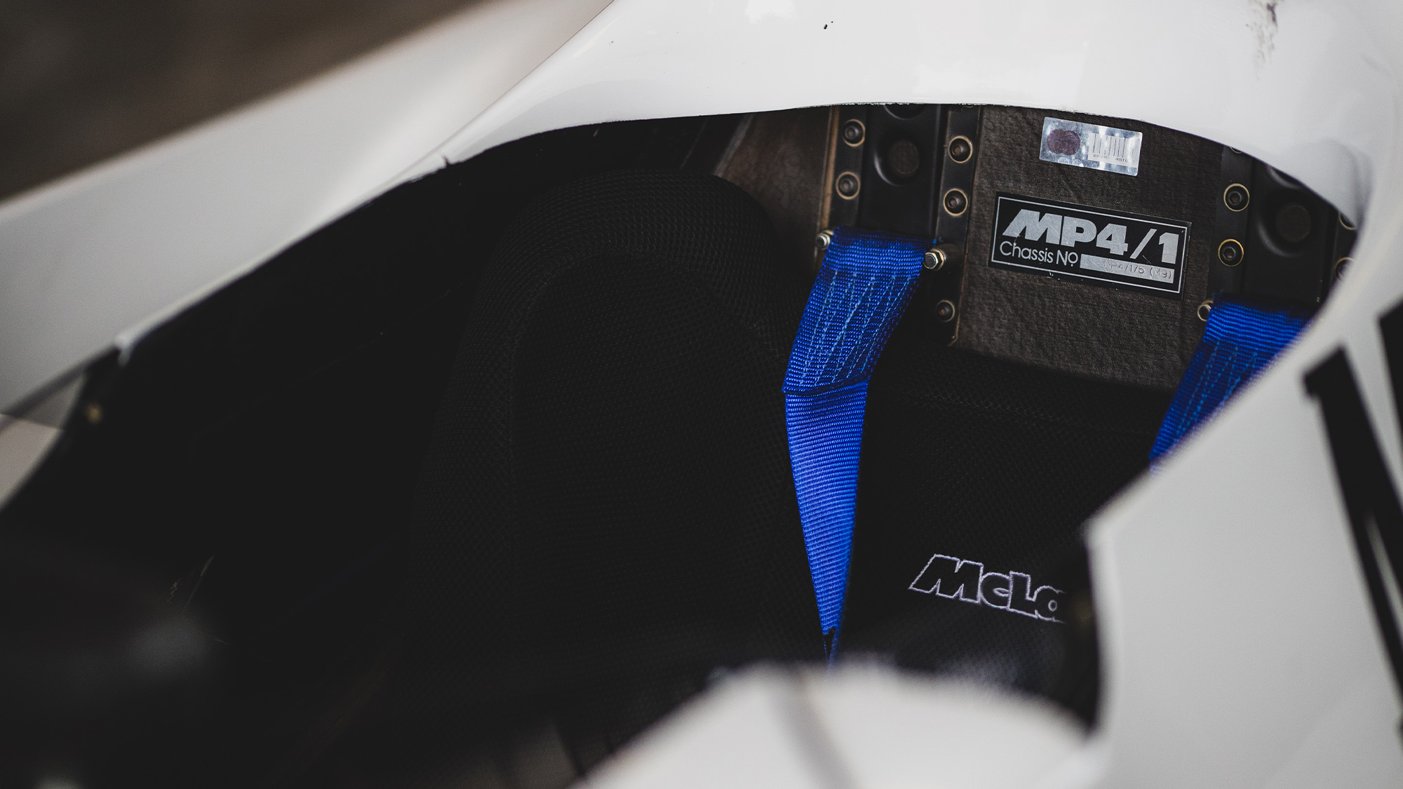Steve Hartley McLaren MP4-1 at Brands Hatch 2021 chassis number