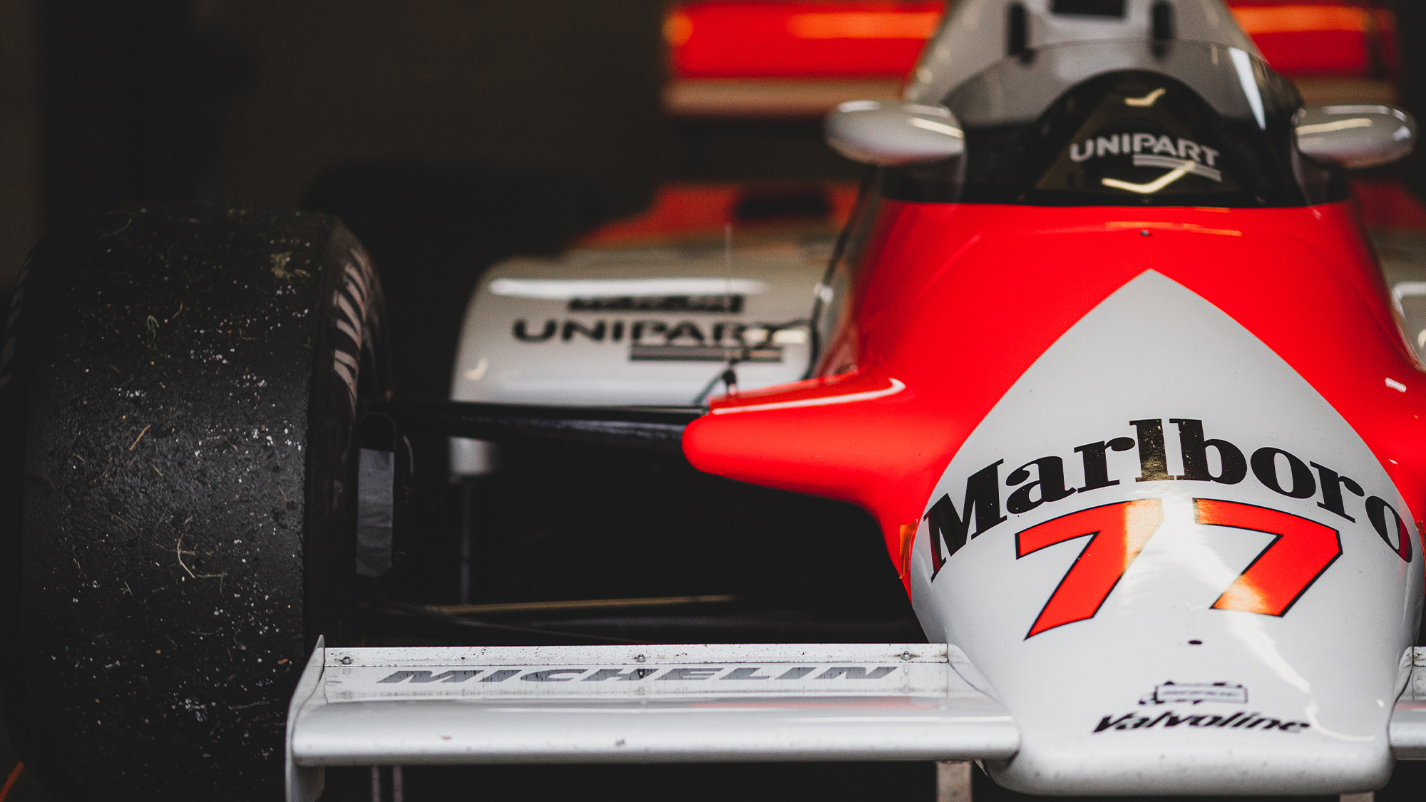 Steve Hartley McLaren MP4-1 at Brands Hatch 2021 - front view