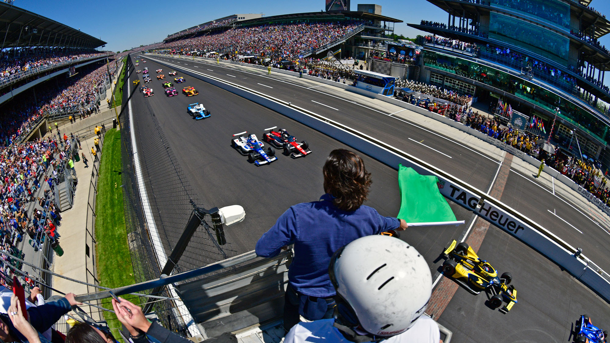 Start of the 2021 Indy 500
