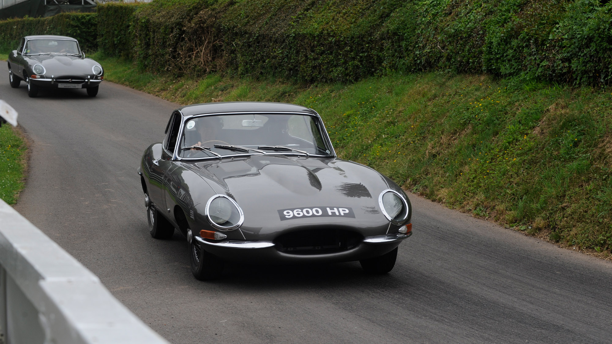 Jaguar E-type 9600 HP at Shelsley Walsh