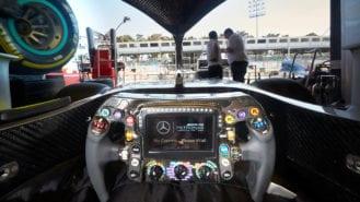 Mercedes redesigns steering wheel to prevent Baku Brake Magic repeat