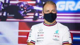Russell denies Mercedes deal is done, as Bottas ignores rumours