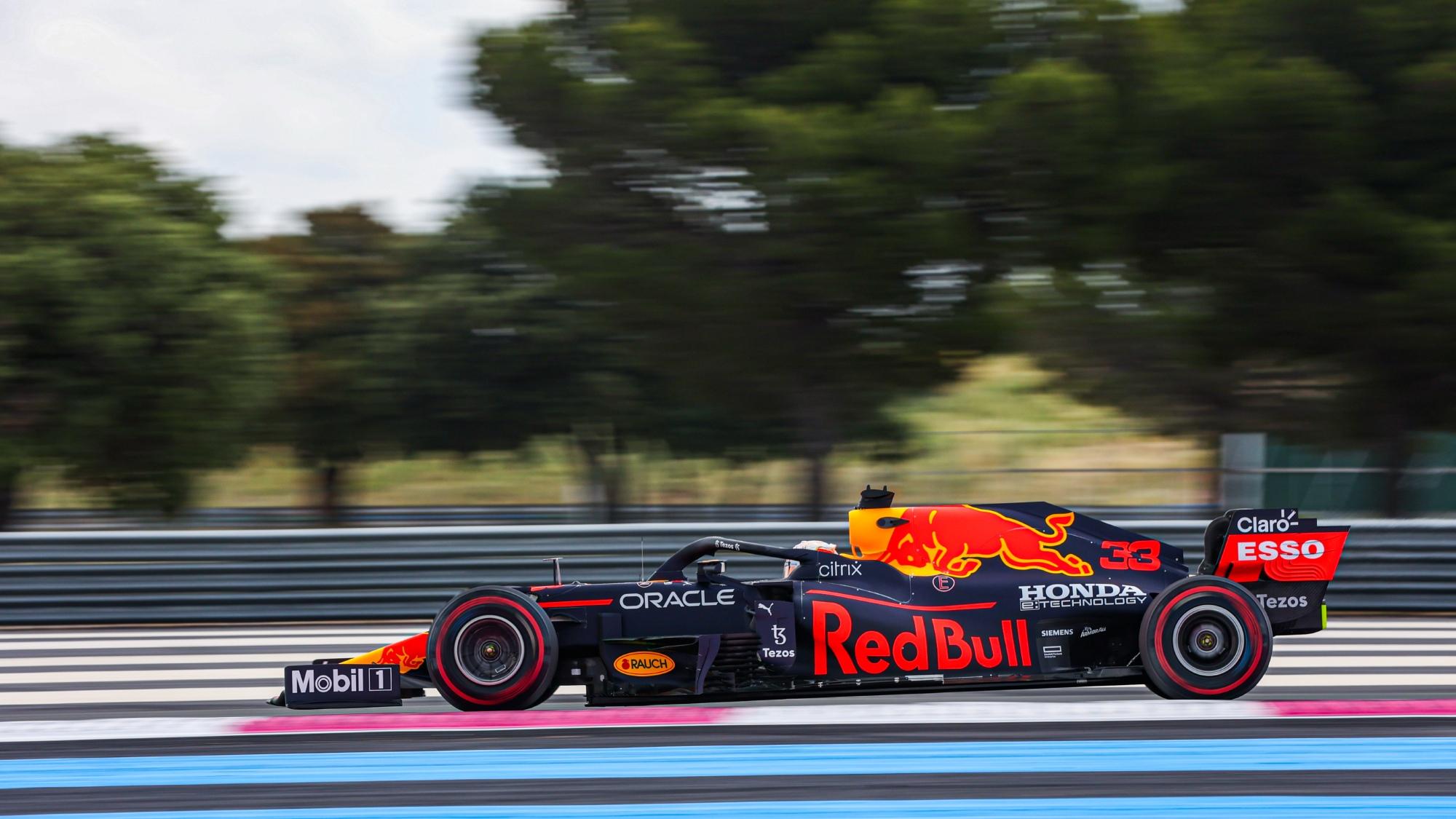 Max Verstappen, 2021 French GP FP2