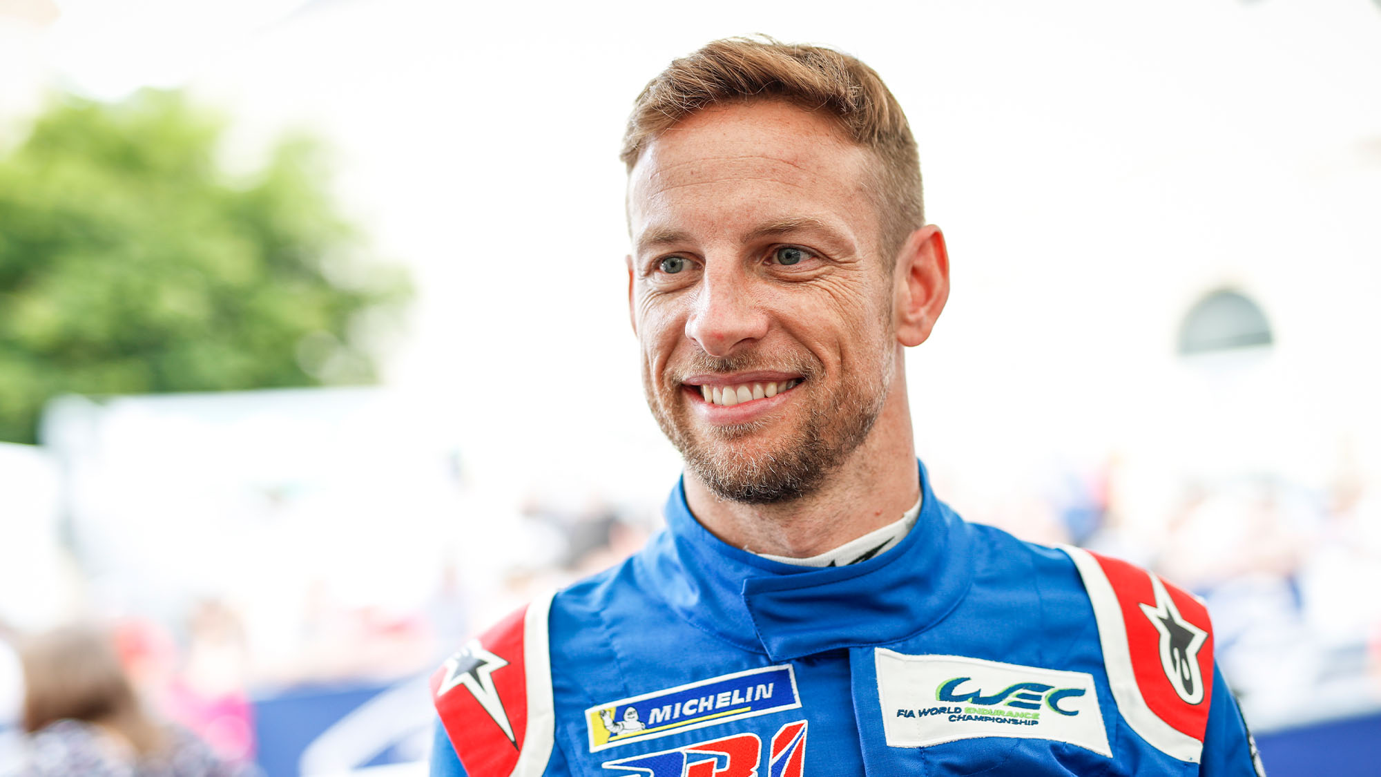 BUTTON Jenson (gbr), BR engineering BR1 AER team SMP racing, portrait during the 2018 Le Mans 24 hours pesage, on June 10 to 11 at Le Mans circuit, France - Photo Florent Gooden / DPPI