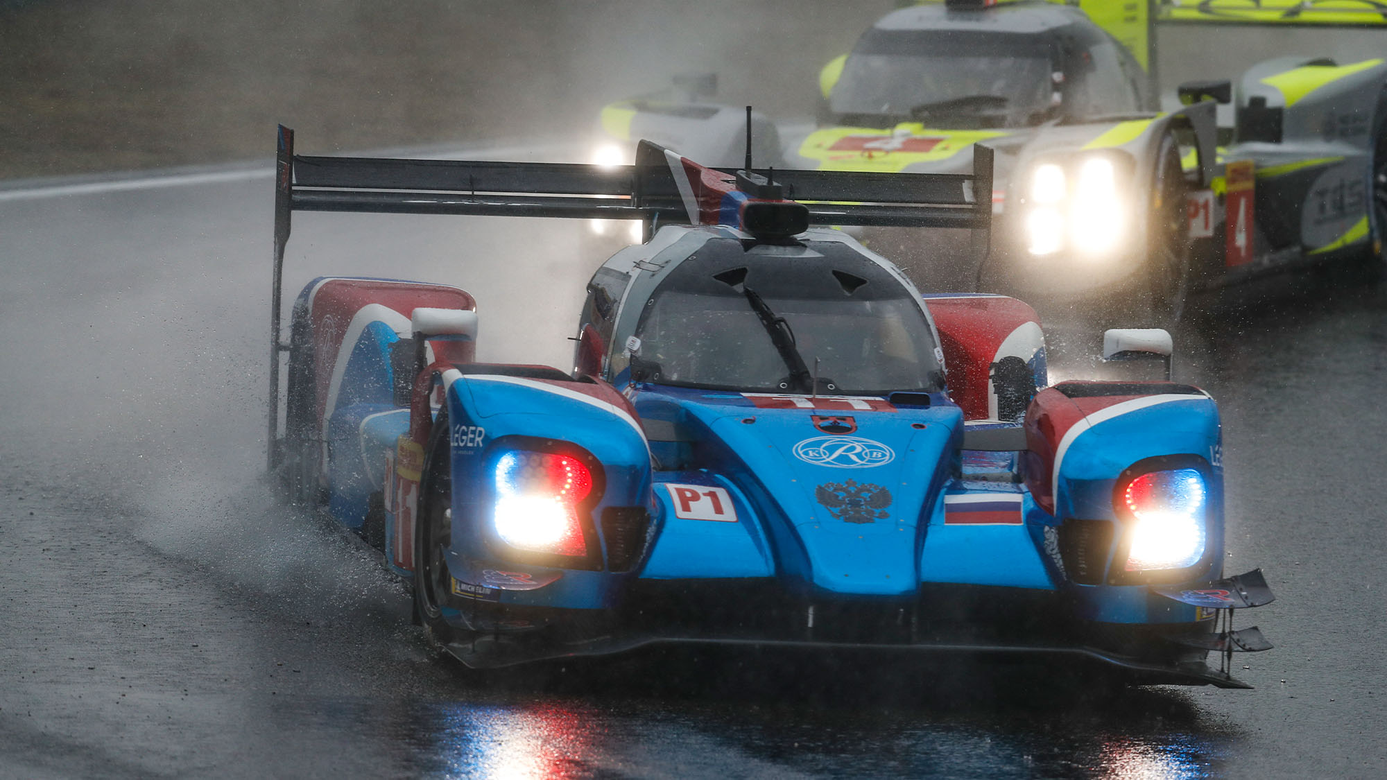 11 ALESHIN Mikhail (rus), PETROV Vitaly (rus), BUTTON Jenson (gbr), BR engineering BR1 AER team SMP racing, action during the 2018 FIA WEC World Endurance Championship, 6 Hours of Shanghai from november 16 to 18, at Shanghai, China - Photo Clément Marin / DPPI