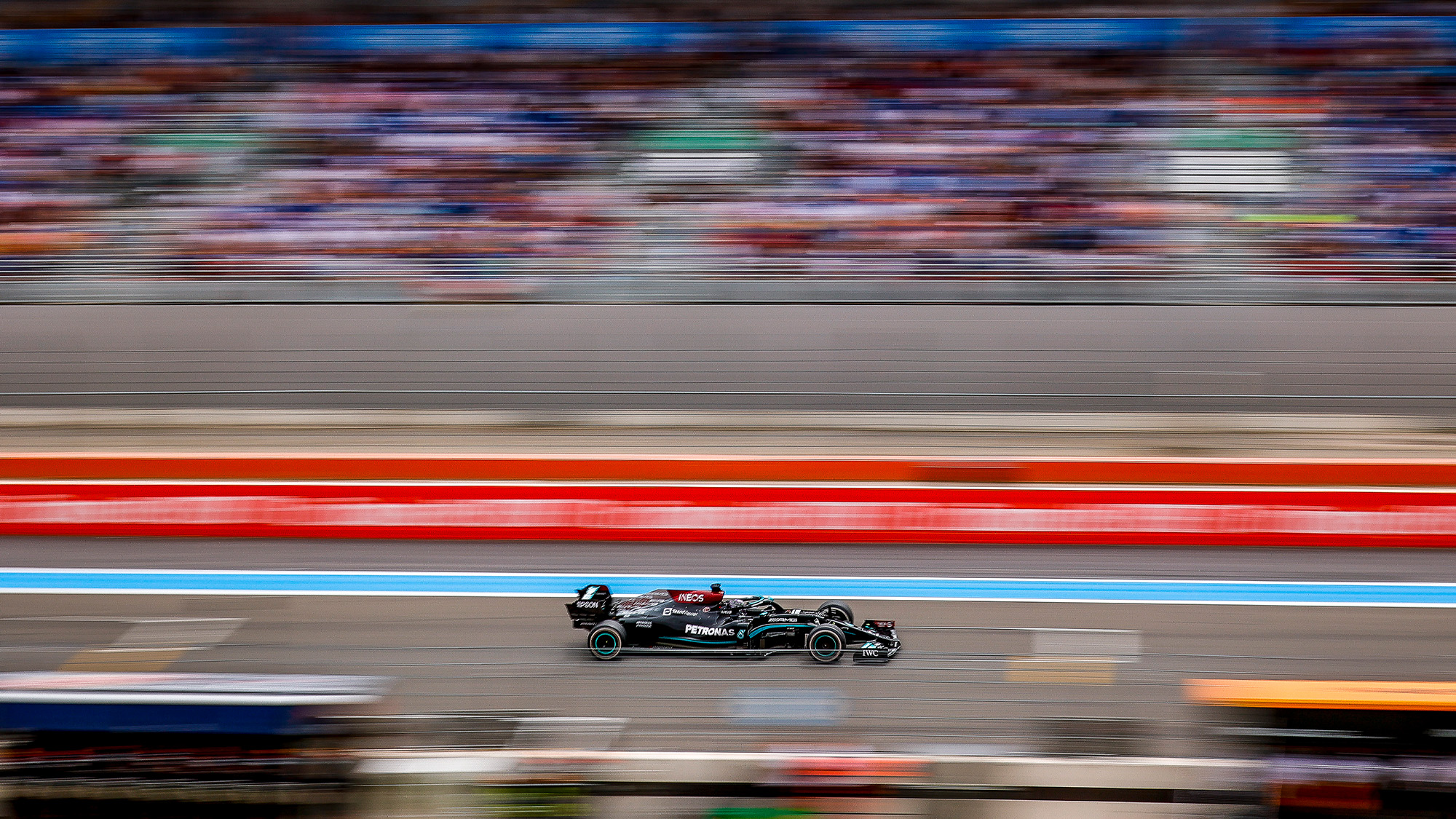 Lewis Hamilton in the 2021 French Grand Prix