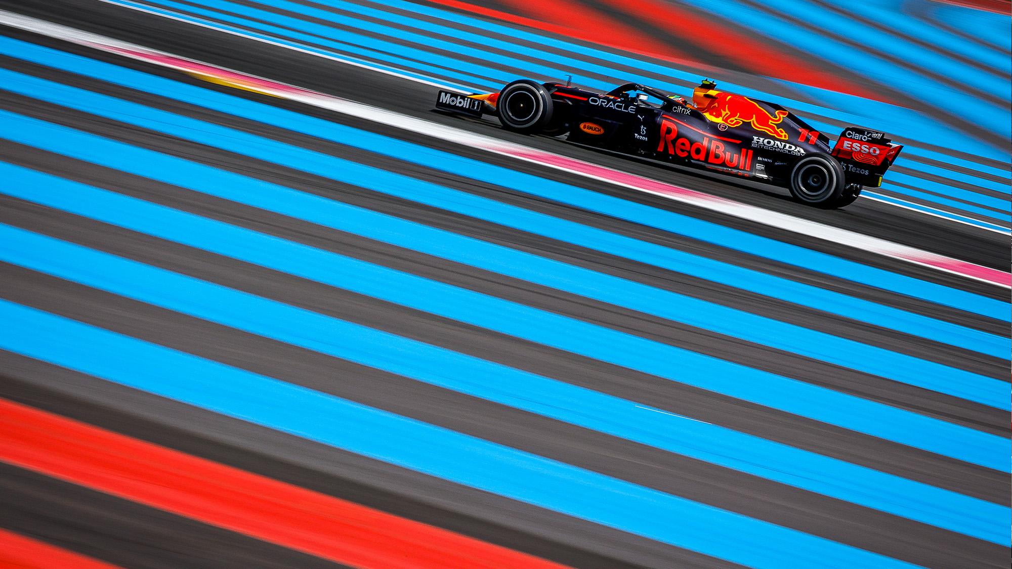 Sergio Perez in the 2021 French Grand Prix
