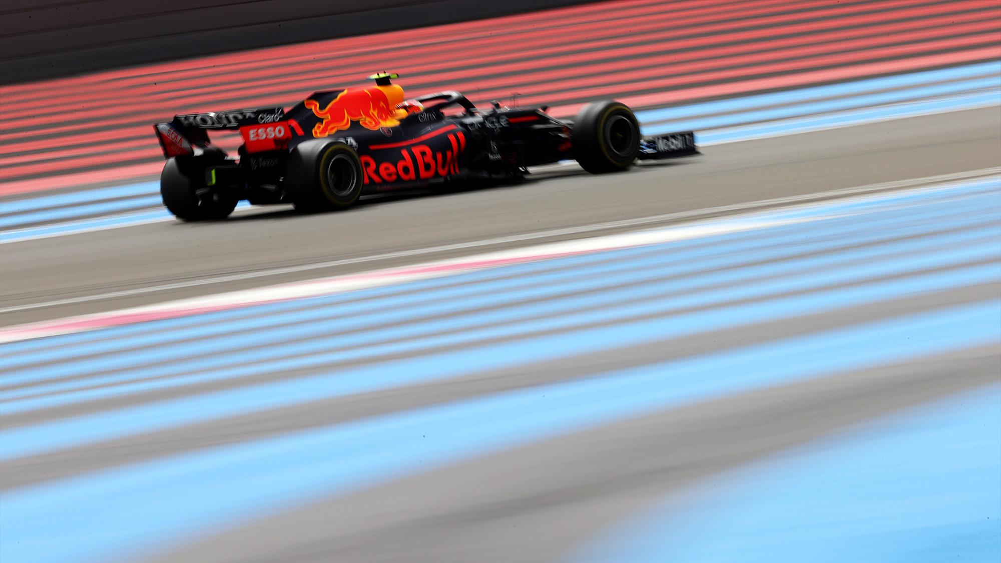Sergio Perez during th 2021 French Grand Prix