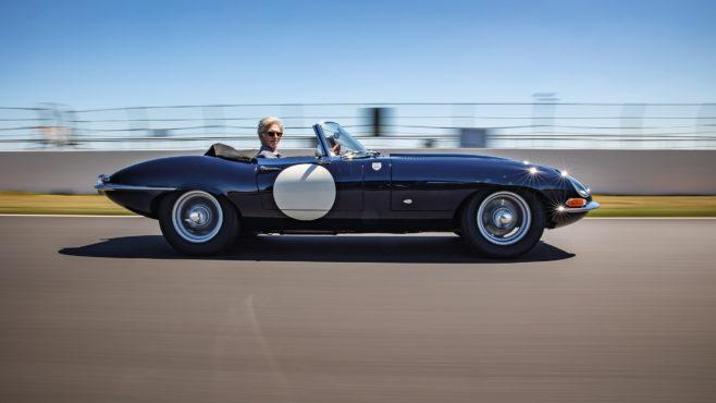 Video: Damon Hill drives his Dad's race-winning Jaguar E-type