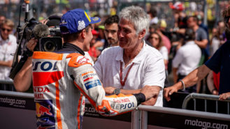 """Doohan on Márquez's victory: """"Once Marc gets his strength back he'll have a chance at MotoGP title'"""