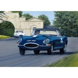 Product image for Oulton Park, 15 April 1961 | Graham Hill and Roy Salvadori | Jaguar E-Types